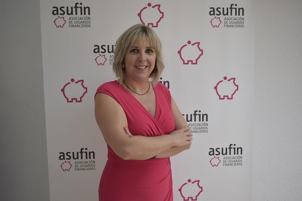 Patricia Suárez, presidenta de la Asociación de Usuarios Financieros (Asufin)
