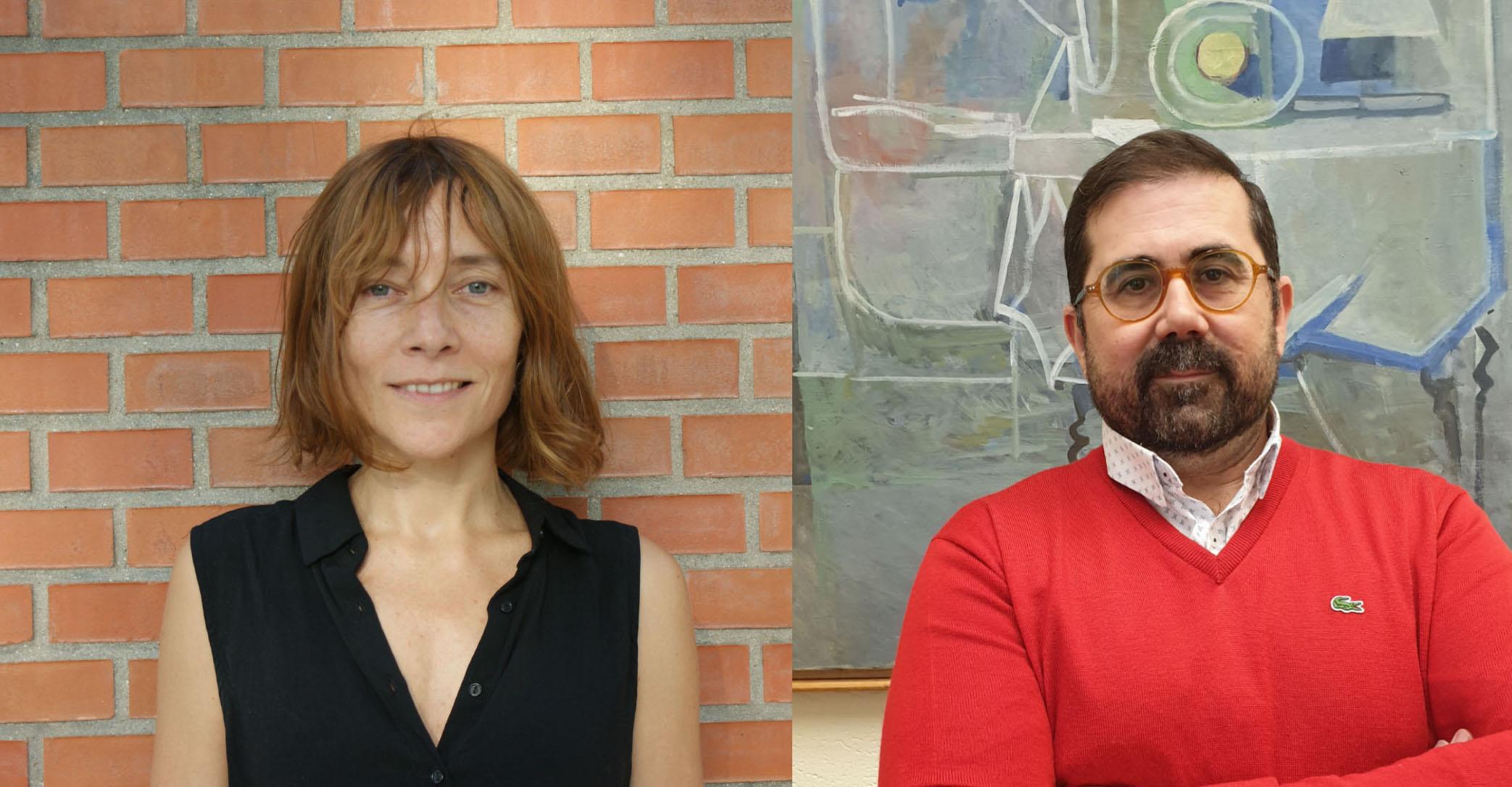 Carmen Riestra y Federico Buyolo.