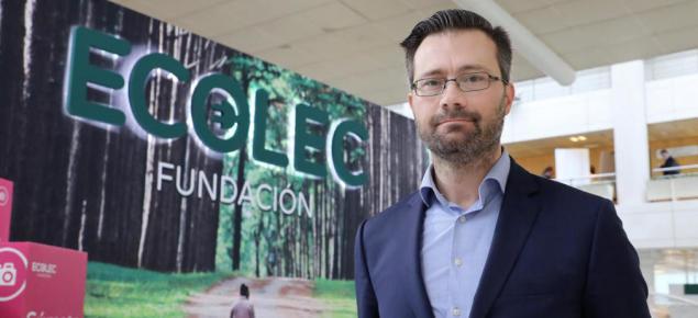 Rafael Serrano, director de Relaciones Institucionales, Marketing y Comunicación de Fundación Ecolec