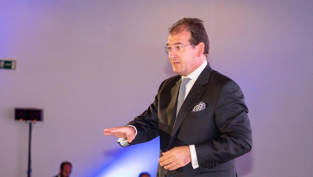 Raúl Grijalba, durante su intervención en 'Sustainability & CSR Spain 2019'.