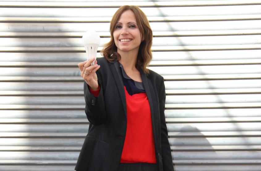 Sandra Pina, socia de QUIERO y directora general de Sustainable Brands Madrid.