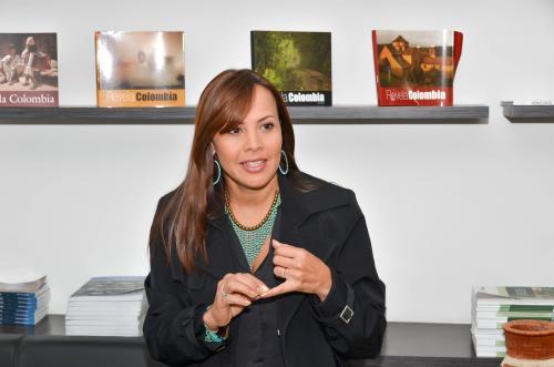 Sandra Howard Taylor. Foto: Ministerio de Industria, Comercio y Turismo de Colombia.