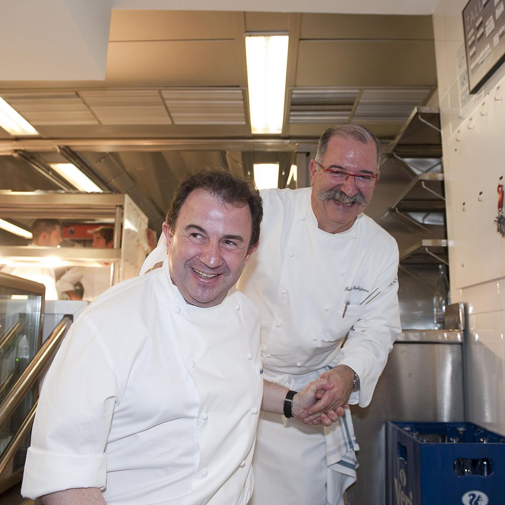Martín Berasategui y Pedro Subijana, dos de los chefs que participan en la 1ª Semana contra el Desperdicio Alimentario.