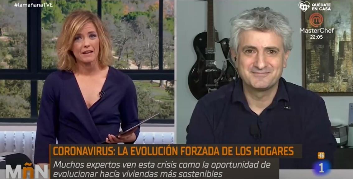 Soziable.es interviene en La Mañana de TVE con María Casado.