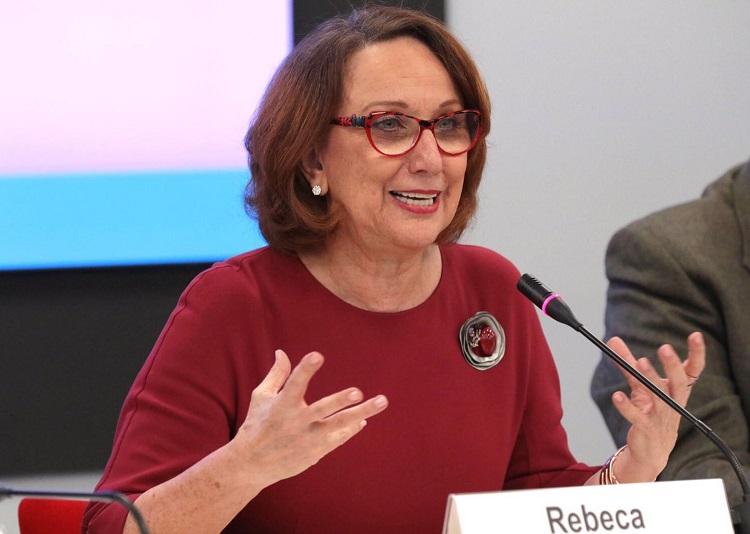 Rebeca Grynspan (Foto: Real Instituto Elcano)