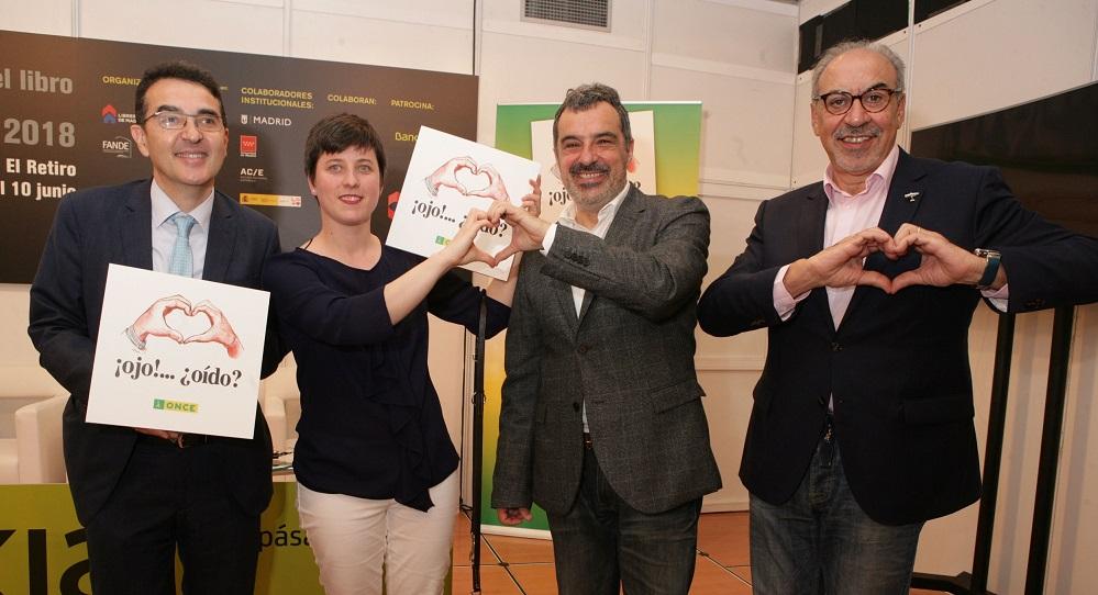Andrés Ramos, Raquel Alba, Julio Rey y José María Gallego (Foto: Javier Regueros)
