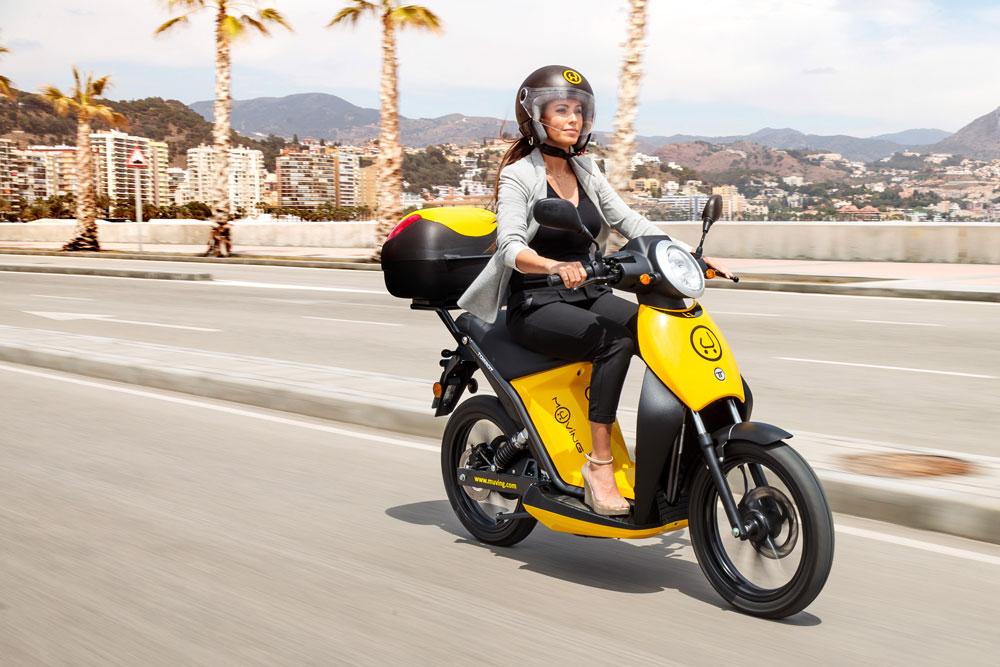 Las motos compartidas ya forman parte del paisaje urbano (Foto: Muving)