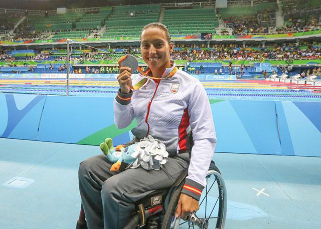 Teresa Perales ha conquistado 26 medallas paralímpicas