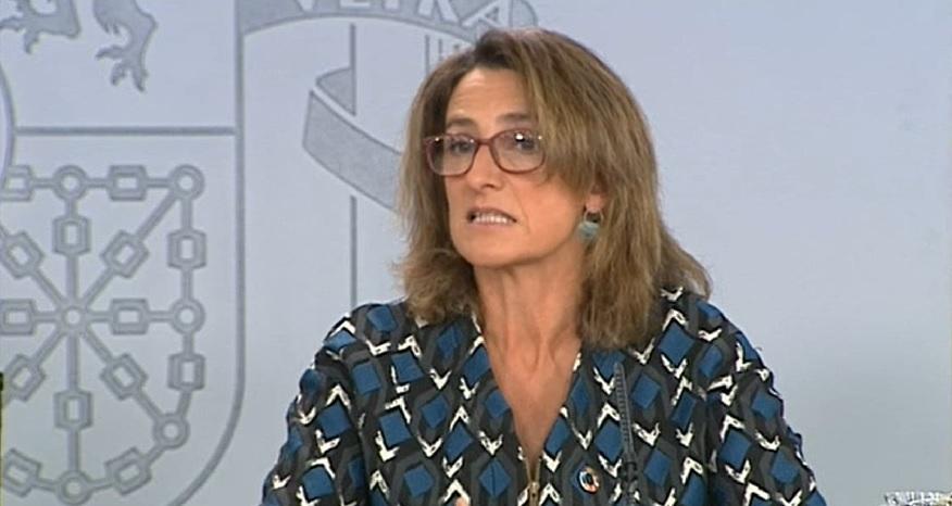 Ribera, durante su comparecencia en la rueda de prensa del Consejo de Ministros (Foto: La Moncloa)