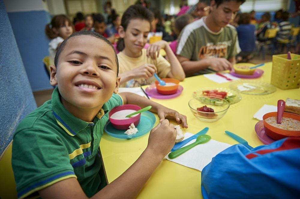 El programa solidario 'Todos a desayunar' de Kellogg se inició en 2011.