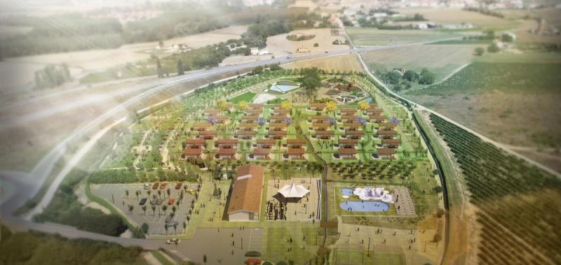 El complejo tendrá 40 bungalows en una parcela de 58.000 metros cuadrados