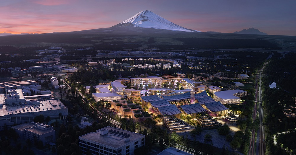 La Woven City comenzará a construirse en Japón en 2021.