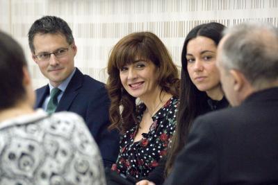 Fernando Riaño</li><li> Pilar Marqués y María Peña.