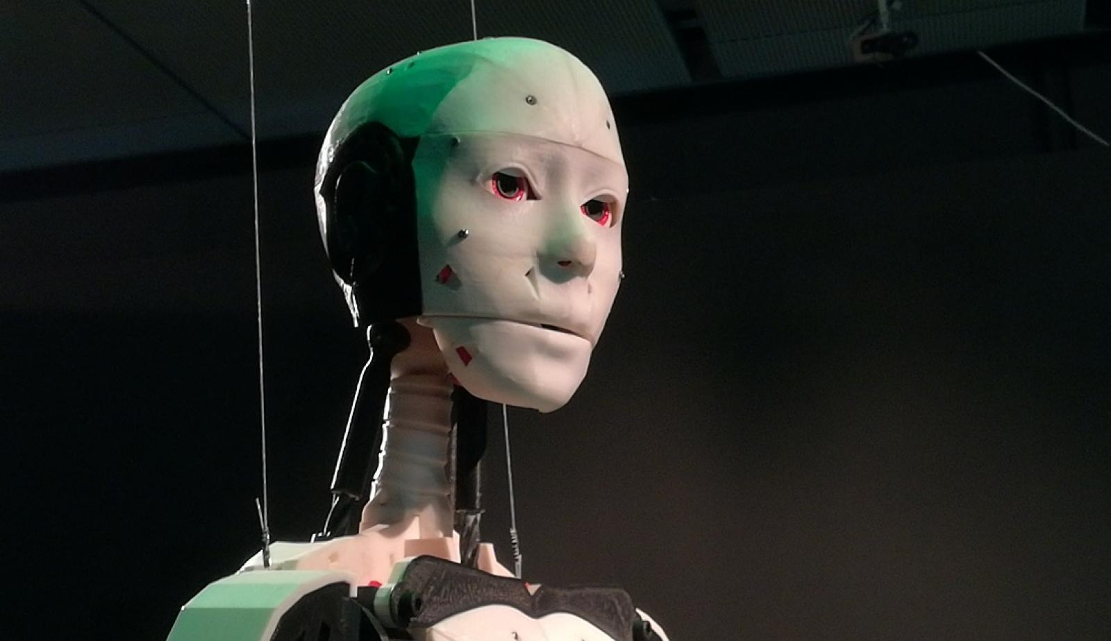 InMoov, el primer humanoide que puede fabricarse en impresoras 3D.