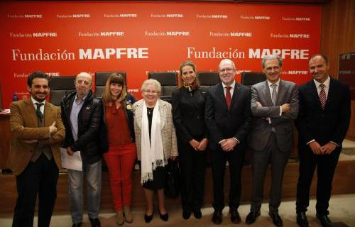 Participantes en la presentación en Madrid de #SéSolidario