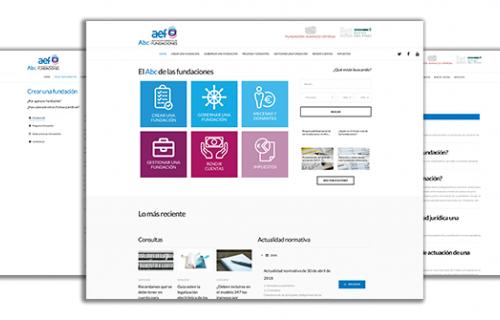 'Abcfundaciones' ofrece vídeo tutoriales, guías legales y solución a dudas frecuentes.