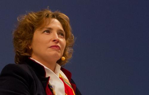 La vicepresidenta del Parlamento Europeo, Nicola Beer.