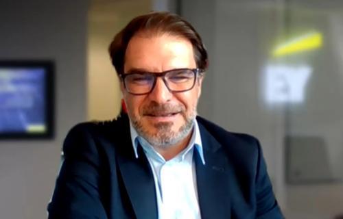 Alberto Castilla, socio del área de Sostenibilidad de EY, durante la III Conferencia WAS Cambio Climático