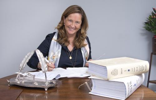 Almudena Castro-Girona Martínez, notaria y directora de la Fundación Æquitas.