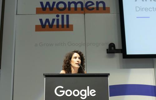 Anaïs Pérez Figueras, directora de Comunicación de Google España y Portugal.