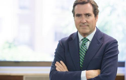 Antonio Garamendi, presidente de CEOE.