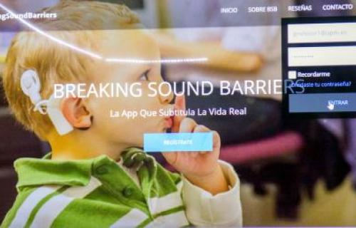 App de Breaking Sound Barriers.