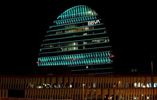 La Vela, sede corporativa de BBVA en Madrid.