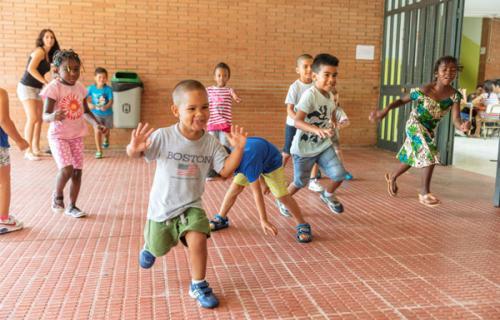 Un total de 16.788 menores de toda España participarán en las colonias urbanas del programa CaixaProinfancia