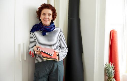 La inventora española Carmen Hinojosa en su estudio.