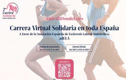 Cartel de la séptima edición de la Carrera Solidaria Zardoya Otis