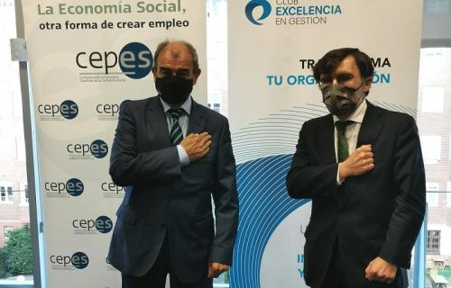 Juan Antonio Pedreño y Alberto Durán.