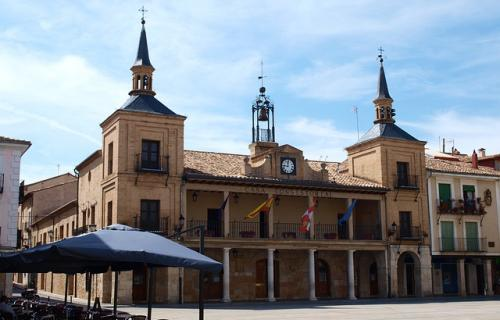 Ayuntamiento de El Burgo de Osma (Soria) pueblo adscrito a la Red