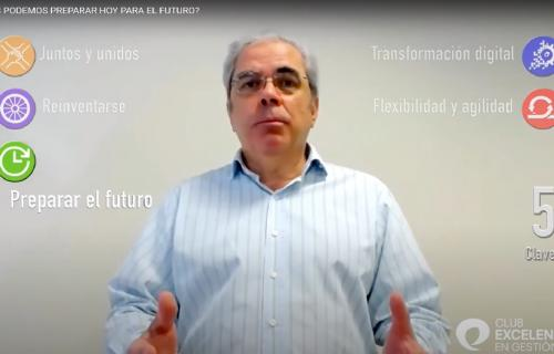 Ignacio Babé, secretario general y CEO del Club Excelencia en Gestión.