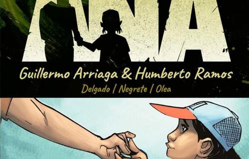 Portada del cómic 'Ana', implantado por Save the Children