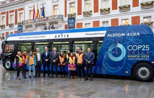 El autobús eléctrico Aptis.