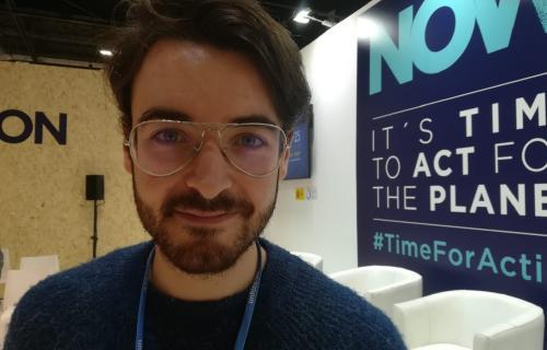 José Luis Crespo, autor de los vídeos de QuantumFracture.