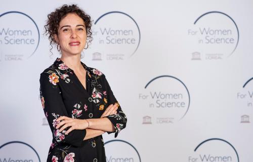 La joven científica Cristina Romera.
