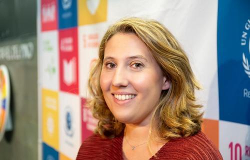 Cristina Sánchez, directora ejecutiva de la Red Española del Pacto Mundial.