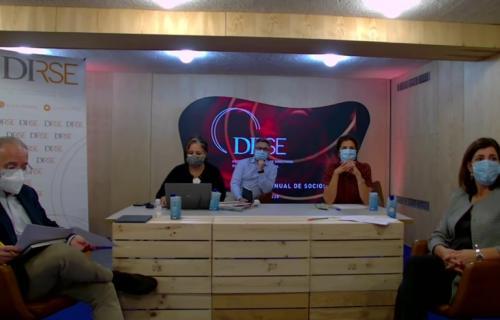 Parte de la Junta DIRSE: Alberto Andreu (secretario), Miwi Clavera (directora general), Javier Garilleti (vicepresidente), Elena Valderrábano (presidenta) y Beatriz Sánchez (tesorera).