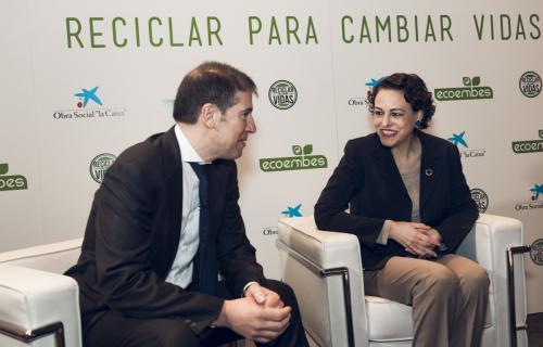 Magdalena Valerio y Óscar Martín.