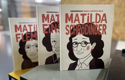 Tres cuentos recrean cómo hubiera sido la vida de Einstein, Fleming y Schrödinger de haber sido mujeres (Foto: @NoMoreMatildas).