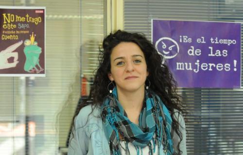 Elena Blasco, secretaria confederal de Mujeres e Igualdad de CCOO.