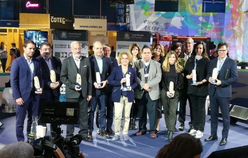 Foto de los representantes de las empresas firmantes de 'Business Ambition 1.5ºC'