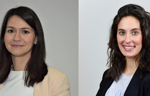 Ana Gómez y Raquel Canales, responsables del programa 'Give & Gain' de Forética.