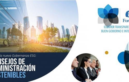 Portada del informe 'Hacia la nueva Gobernanza ESG: Consejos de Administración sostenibles'.