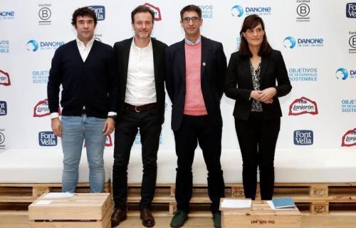 Borja Lafuente, François-Xavier Lacroix, Pablo Sánchez e Irene de la Torre, durante la presentación | Fotos: Tinkle