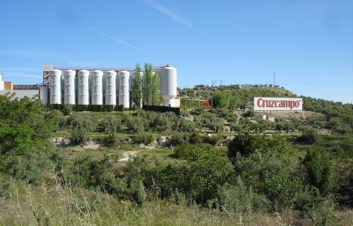 Fábrica de Cruzcampo en Jaén, la primera de España en obtener el sello de 'De Residuos a Recursos: Zero a Vertedero'.
