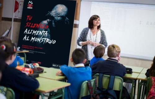 Fundación Mutua Madrileña y Fundación ANAR desarrollan acciones para la prevención del bullying en centros educativos.