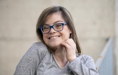 La actriz Gloria Ramos.