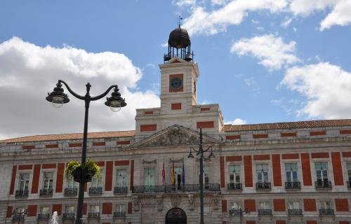 Sede del Gobierno regional madrileño en la Puerta del Sol.